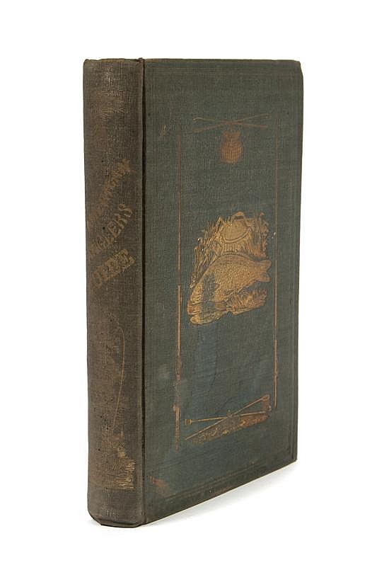 *(SPORTING) [BROWN, JOHN J.] The American Angler's Guide. New York, 1850.