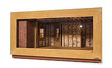 * An Attic Room Box, Height 13 x width 24 x depth 17 inches.