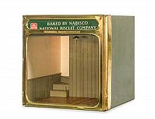 * A Nabisco Store Display Room Box, Height 10 1/2 x width 9 3/4 x depth 10 inches.