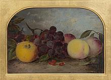 Artist Unknown, (Probably British, 19th Century), Still Life With Peaches