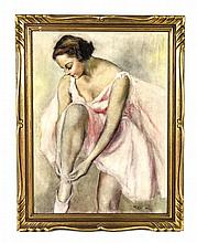 Pal Fried, (American/Hungarian, 1893-1976), Ballerina