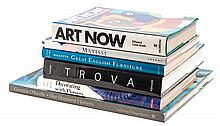 A Collection of Art Books. 6 volumes.