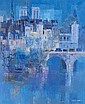 Lancelot Ney, (Hungarian 1900-1965), Ile de la Cite, Lancelot Ney, Click for value