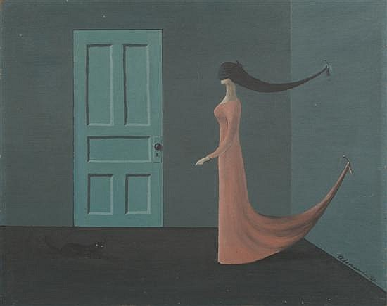 Gertrude Abercrombie, (American, 1909-1977), Untitled, 1961
