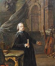 Johann Jakob Dorner the Elder, (German, 1741-1813), The Musician, 1769