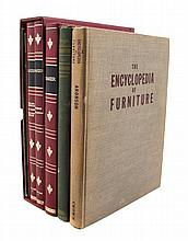 A Collection of Books Pertaining to Furniture, 13 volumes.