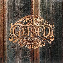 A Gerard Demo Self Titled LP Height of largest frame 16 x width 21 inches.