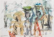 Douglas Macdiarmid  , (New Zealand, b. 1922), Untitled (Figures)