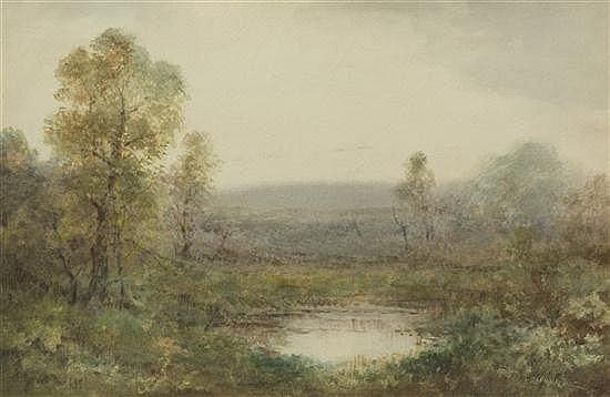 Alexander Helwig Wyant, (American, 1836-1892), Morning Mists