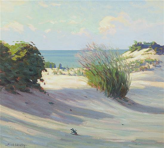 * Frank Virgil Dudley, (American, 1868-1957), A Fine Day