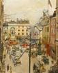 Thomas Cantrell Dugdale, (British, 1880-1952), Fleet Street