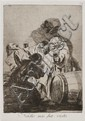 Francisco de Goya, (Spanish, 1746-1828), Nadie nos ha visto (plate 79, from Los Caprichos series)