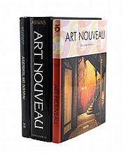 * A Collection of Sixteen Reference Books Pertaining To Art Nouveau,