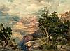* After Thomas Moran, (American, 1837-1926), Grand Canyon of Arizona from Hermit Rim Road, 1912, Thomas Moran, $0