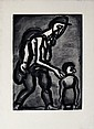 Original etching Georges Rouault