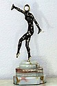 Signed Chiparus Bronze and Ivory