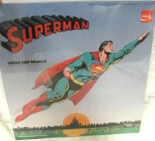 1970 Superman record with sleeve, EC