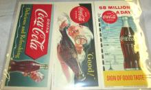 1953 Good (Sprite Boy), 1957 58 Million a Day, 1951 Delicious and Refreshing (Sprite Boy) Blotters, EC