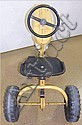 Pedal Tractor AMF Yellow Ranch Trac