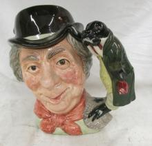 Walrus and Carpenter D6600 - Large - Royal Doulton Character Jug, 6