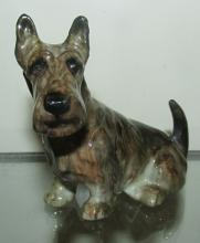 Scottie Scottish Terrier Vintage Dog Figurine Royal Doulton K18, 2 1/2