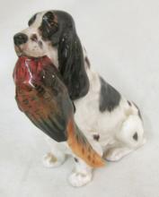 Cocker Spaniel with Pheasant HN 1028 Royal Doulton Dog Figurine 3 3/4