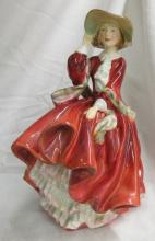 Royal Doulton Figurine HN 1834 Top of The Hill, 7 1/2