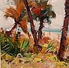 Emile Albert Gruppe  (American 1896 - 1978) oil on canvas laid on board,