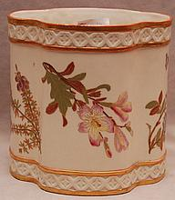Royal Worcester biscuit jar, 5 3/4