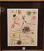 Joan Miro (Spain 1893 - 1983) 1964 Lithograph in colors on Rives paper: Frontispiece, from Quelques fleurs pour des amis (M. 407; C. bk. 92), signed in pencil, from the total edition of 225, published/printed by XXe Siècle/Mourlot, Paris, the full