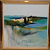 French School signed Lemeret, oil on canvas, Landscape