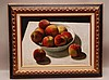 Arthur Segal  (Romania 1875 - 1944) oil on canvas laid on board, Still life Fruit, signed lower right A.Segal dated lower left 1937, Arthur Segal, $3,000