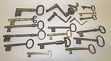 19 various keys