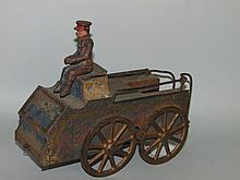 Clark hill climber toy car