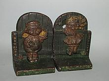Dolly Dingle bookends