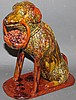 Large Lester Breininger seated dog with basket