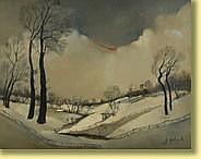 Gustave Helinck (1884-1954) École belge Huile sur