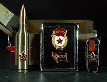 Set of Former Soviet Union Lighter & Items