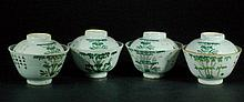 Group of 4 Chinese Porcelain Tea Sets