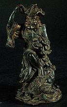 Finely Detailed Chinese Bronze Diety