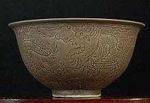 Ming Dynasty Brown Glazed Bowl