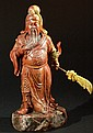 Chinese Shoushan Stone Carving - Guan Yu