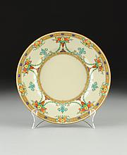 A SET OF TWELVE ROYAL DOULTON PORCELAIN DINNER PLATES IN THE JESSICA PATTERN, ENGLAND, EARLY 20TH CENTURY,