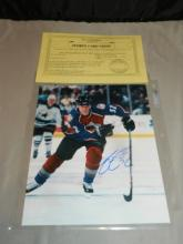 Autographed Adam Foote 8 x 10 Photo with Cert