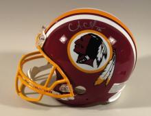 Alfred Morris autographed Washington Redskins ProLine helmet
