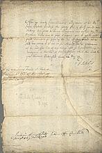 OSBORNE THOMAS: (1632-1712) 1st Duke of Leeds. English Statesman