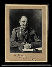 ISMAY HASTINGS: (1887-1965) British Indian Army officer & Diplomat