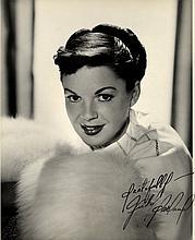 GARLAND JUDY: (1922-1969) American Film Actress & Entertainer