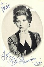 BRITISH TELEVISION: Selection of signed postcard