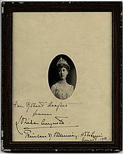 PRINCESS MARIE LOUISE: (1872-1956) Princess of